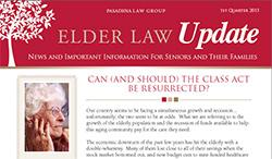 Elder Law Update - 1st Quarter 2013