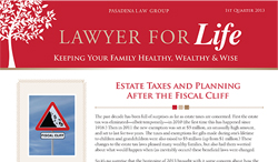 Lawyer for Life - 1st Quarter 2013