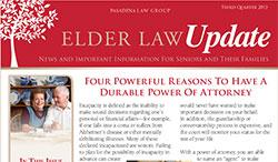 Elder Law Update - 3rd Quarter 2013