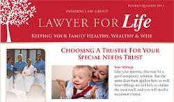 LAWYER FOR Life - 4th Quarter 2013