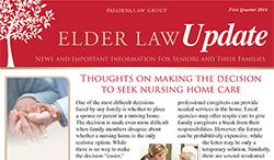 Elder Law Update - 1st Quarter 2014