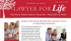 Lawyer for Life - 1st Quarter 2015