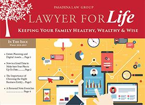 Estate Planning 4th Quarter 2018 Newsletter